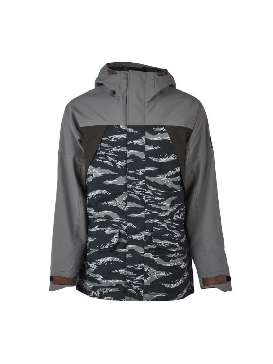Куртки Sessions Ransack Insulated Jacket Black Tiger