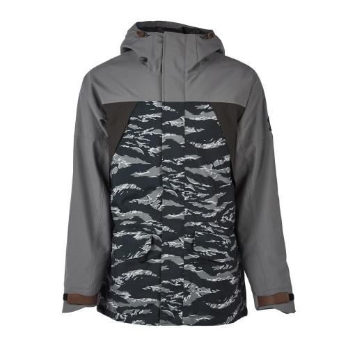 Куртки Sessions Ransack Shell Jacket Black Tiger