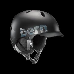 Шолом Bern Bandito EPS Matte Black Camo Logo w/ Black Liner  M/L (р)