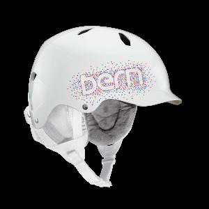 Шолом Bern Bandito Gloss White Confetti Logo  M/L (р)