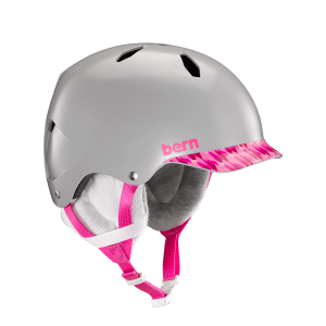 Шолом Bern Bandito Satin Grey/Pink Brimstyle  M/L (р)
