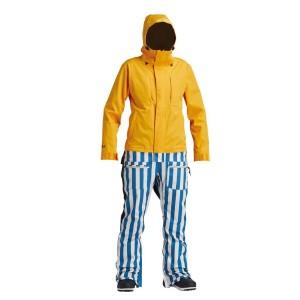 Комбінезон Airblaster W's Stretch Freedom Suit-Sungold Stripe