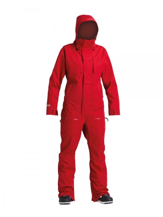 Комбінезон Airblaster W's Stretch Freedom Suit-Dark Red