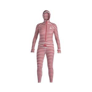 Термобілизна Airblaster Wms Classic Ninja Suit-Dark Red Stripe