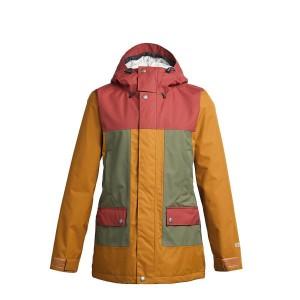 Куртка Airblaster Heartbreaker Jacket-Grizzly Oxblood