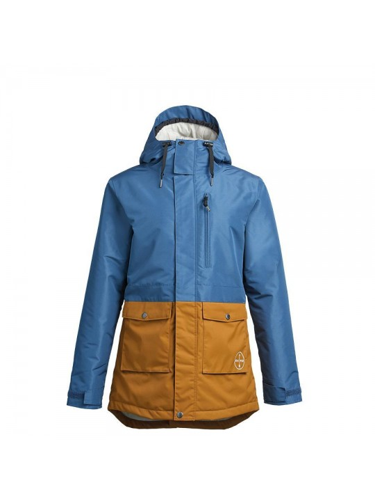 Куртка Airblaster Stay Wild Parka-Navy Grizzly