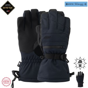 Рукавиці POW Wayback Gtx Long Glove + Warm Liner Black