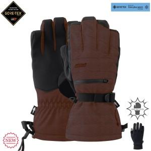 Рукавиці POW Wayback Gtx Long Glove + Warm Liner Bornt Brick