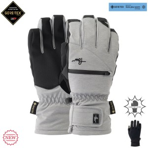 Рукавиці POW W'S Cascadia GTX Short Glove + Warm Liner Monument