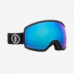 Маска Electric  EGG Matte Black Photochromic Blue