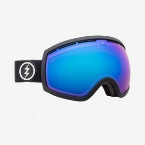 Маска Electric  EG2 Matte Black Brose\Brose Blue Chrome