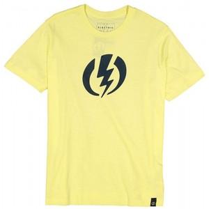 Футболка Electric  Logo Yellow