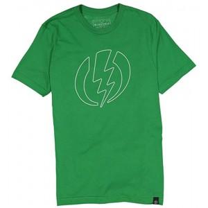 Футболка Electric Logo Green