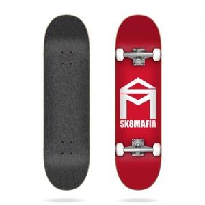 Скейтборд Sk8mafia House Logo Red 7,87