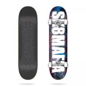 Скейтборд Sk8mafia OG Logo Stencil Pink & Blue 8,0