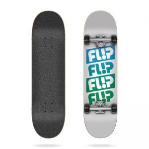 Скейтборд Flip Team Quattro White 7,0