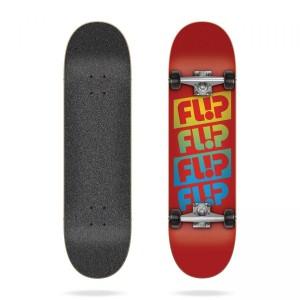 Скейтборд Flip Team Quattro Red 7,88