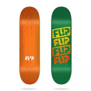 Скейтборд дека  Flip Team Quattro Faded Green 8,5