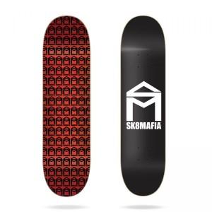 Скейтборд дека Sk8mafia House Logo Black 8,0