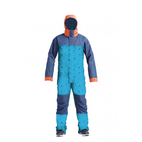 Комбінезон Airblaster Stretch Freedom Suit-HE Teal