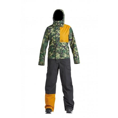 Комбінезон Airblaster W's Stretch Freedom Suit-OG Dinoflage