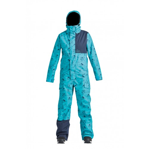 Комбінезон Airblaster W's Stretch Freedom Suit-HE Teal