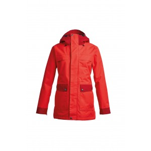 Куртка  Airblaster Storm Cloak-Party Time Red